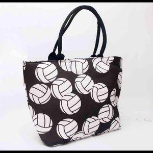 Handbags - 🏐NEW Volleyball full zip handbag sports mom tote